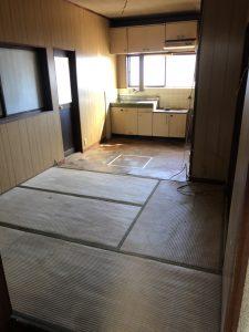 奈良県吉野郡大淀町にて不動産売買に伴う残地物撤去作業